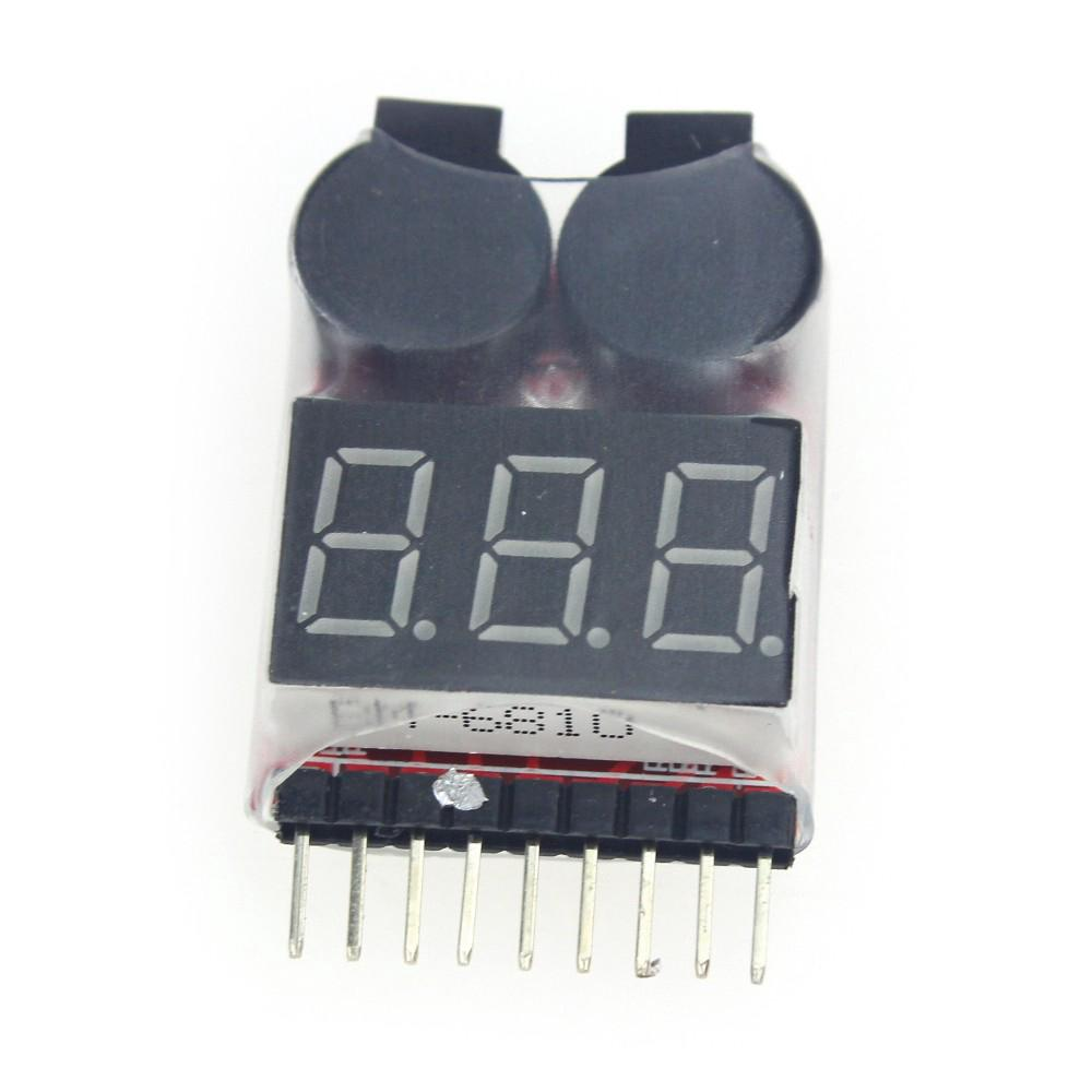 Lipo Battery Low Voltage Tester Volt Meter Indicator Checker