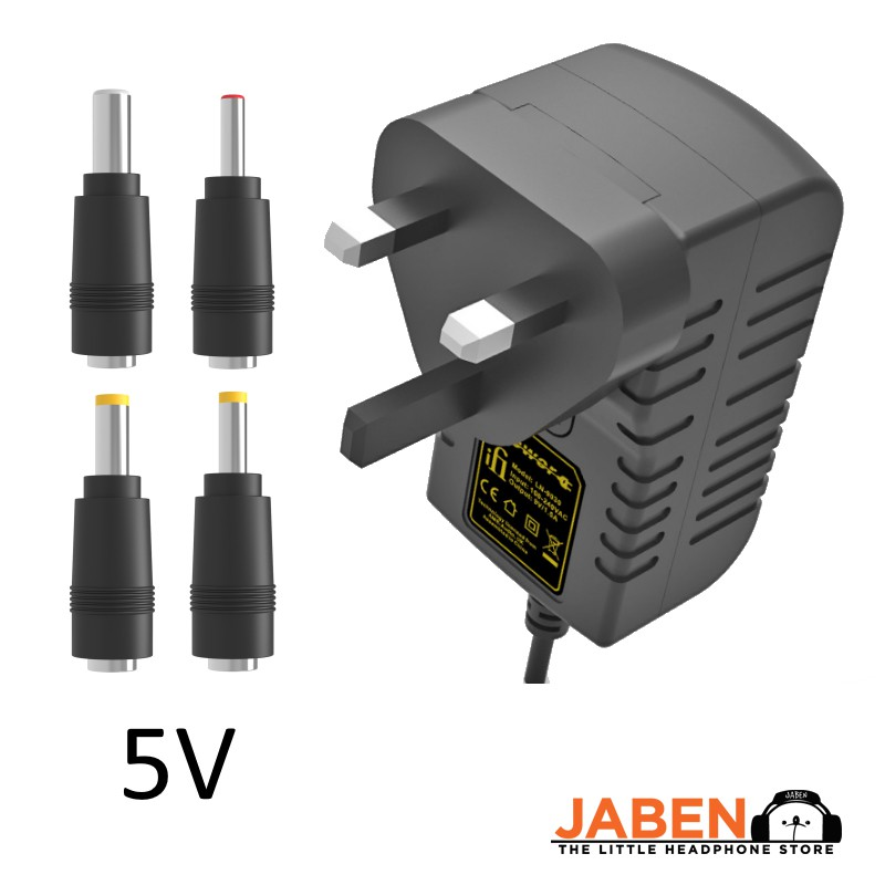 iFi iPower v2 Power Adapter with Noise Cancelling EMP Shielding for DAC Amplifier Photography Flash [Jaben]
