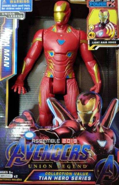 Figures Batman Superman Flash 30cm Marvel Avengers Iron Man Thor Batman Captain America Black Panther Spiderman