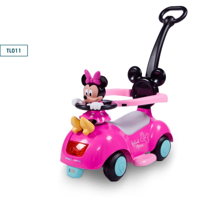 Logical Children Three Wheel Balance Car Scooter No Foot Pedal Children Swing Car Portable Baby Walker Tricycle Riding Toys Twist Car To Adopt Advanced Technology Activity & Gear Mother & Kids
