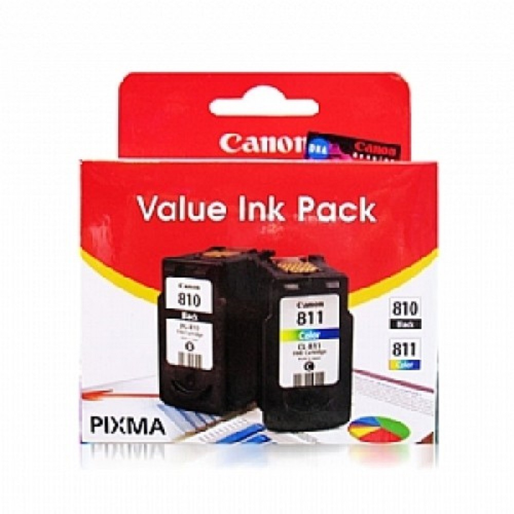 Canon Pg 810 Cl 811 Value Pack Ink Cartridge Shopee Malaysia Color