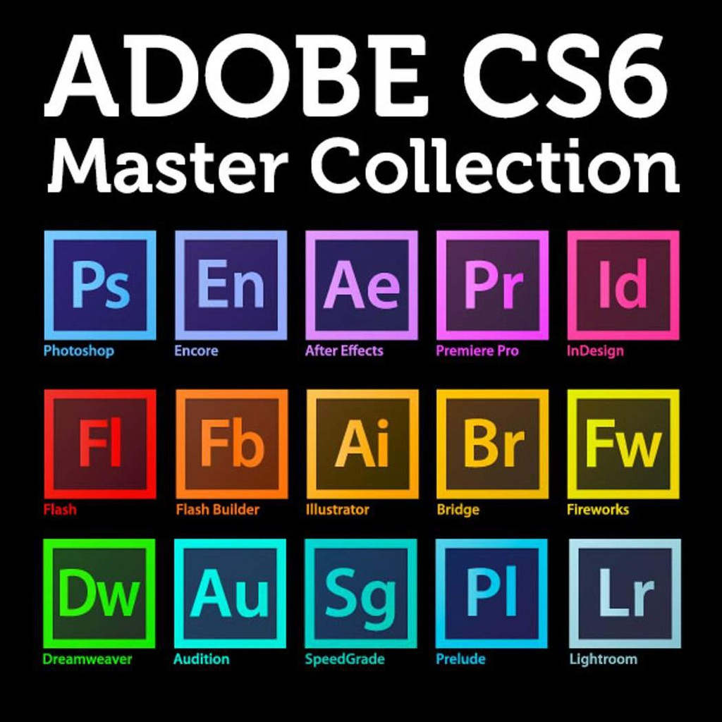 🔥HOT🔥 Adobe CS6 Master Collection [Window 64-Bit] | Software