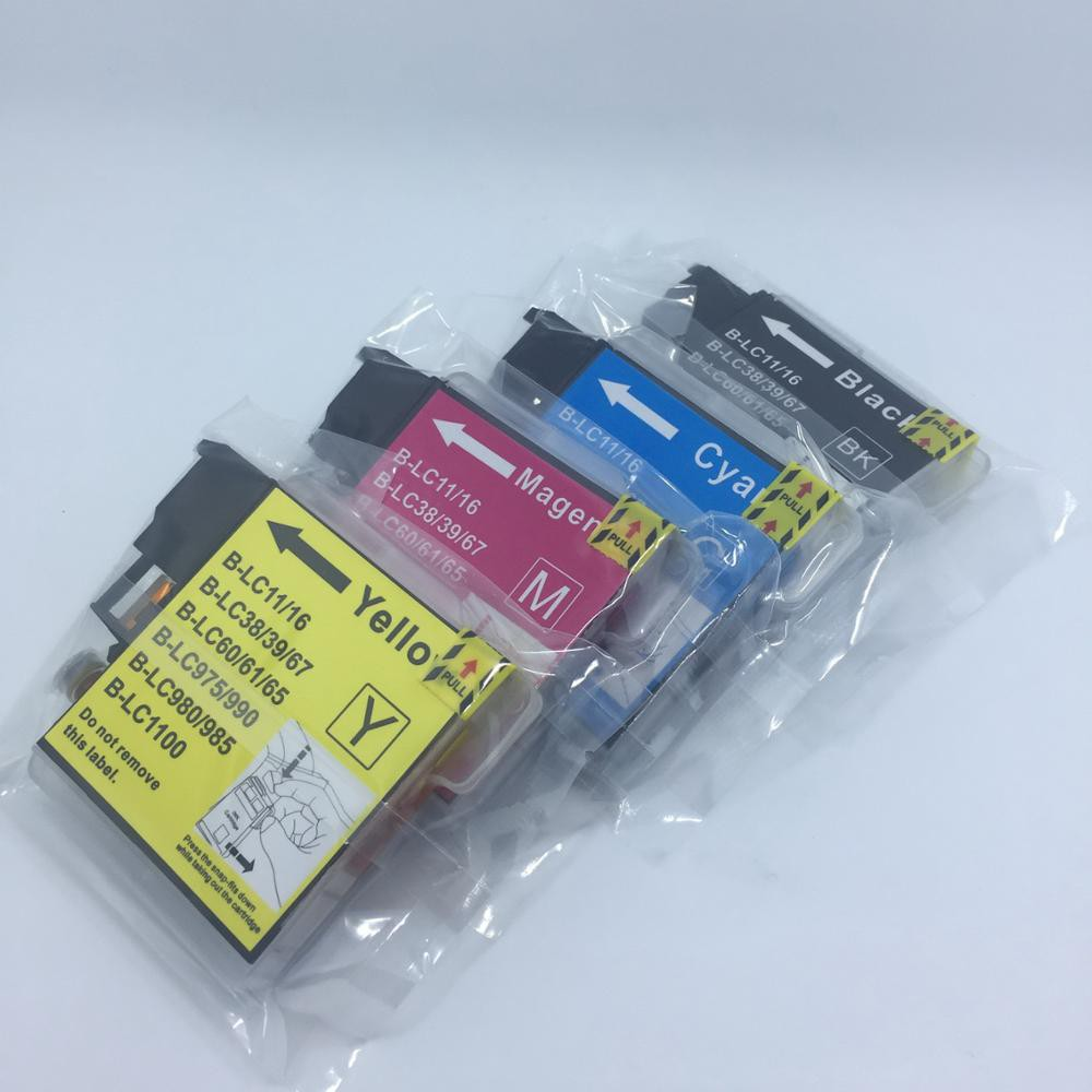 Compatible ink cartridge LC39 LC60 LC975 LC985 for Brother DCP-J125