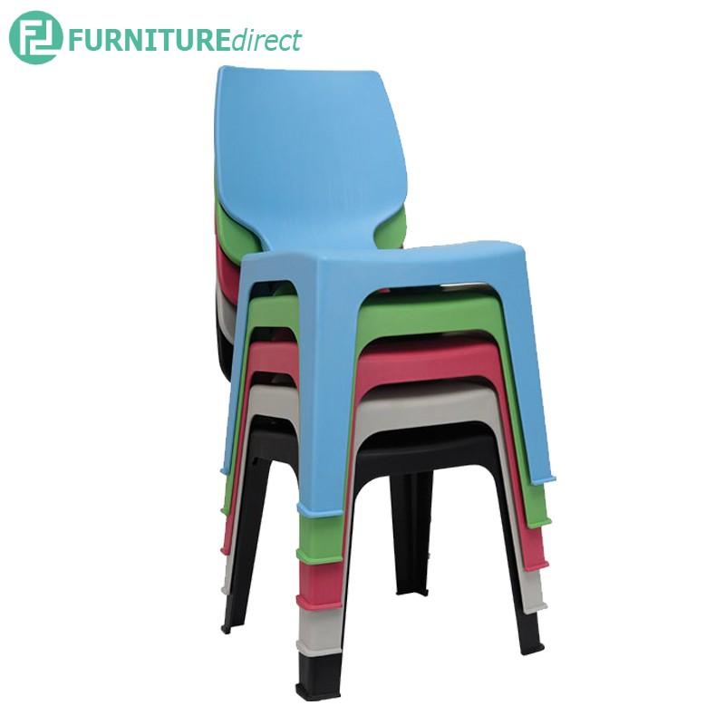 Furniture Direct OPTIMUS plastic chair/ designer chair/ restaurant chair/ kerusi makan/ kerusi office