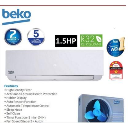 Beko R32 Non-Inverter Air Conditioner 1.5HP - BMFOA120
