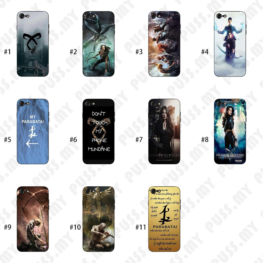 6e3da899d9867 Casing iPhone X Shadowhunters