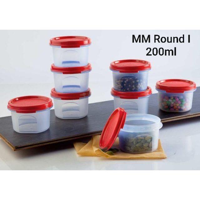 Tupperware MM Round I (1) 200ml