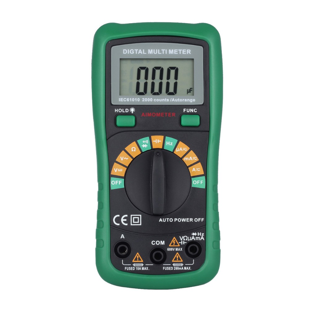 Lcd Digital Multimeter Dt 830 Electric Voltmeter Ammeter Ohm Tester A830l Ac Dc Circuit Volt Shopee Malaysia