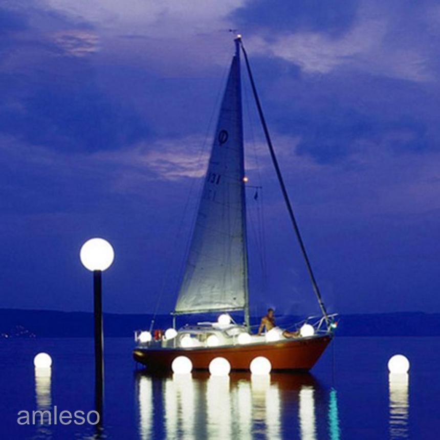 Garden Pond Pool Ball Lights for Garden,.. 85mm Solar Floating LED Light