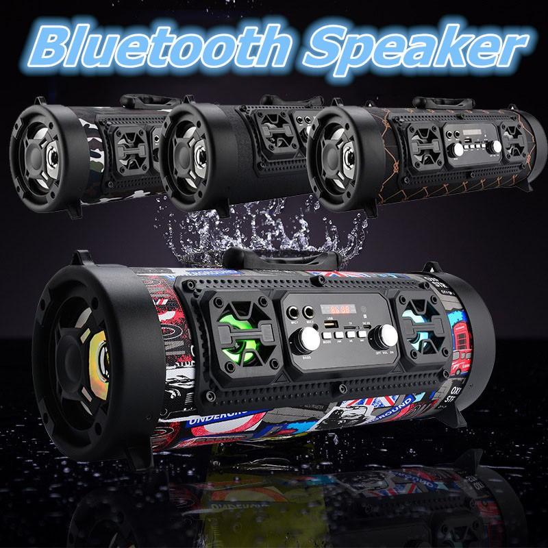 bf04098f5fe Batman HY-01 Bluetooth Speakers LED Big Capacity Sound Bass Subwoofer