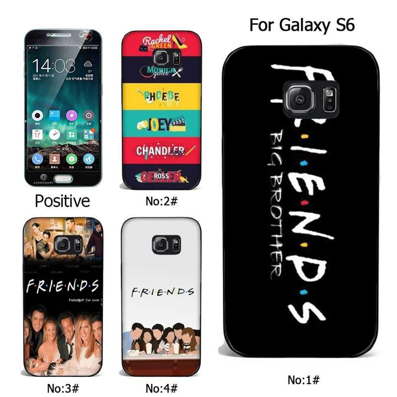 friends tv Samsung S7 S8 S9 plus soft case