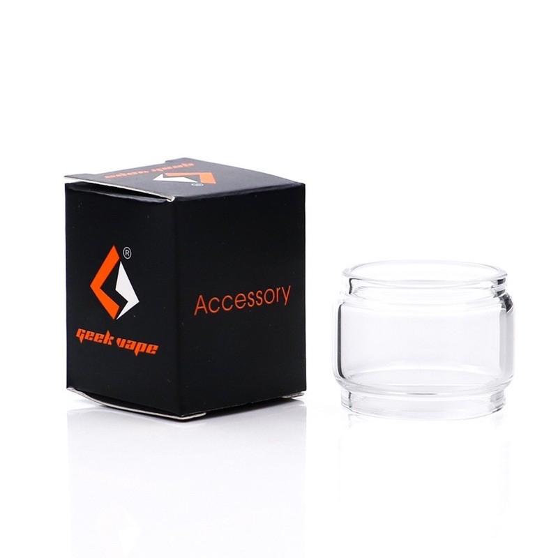 ZEUS Dual RTA Bubble glass tube 5.5ml