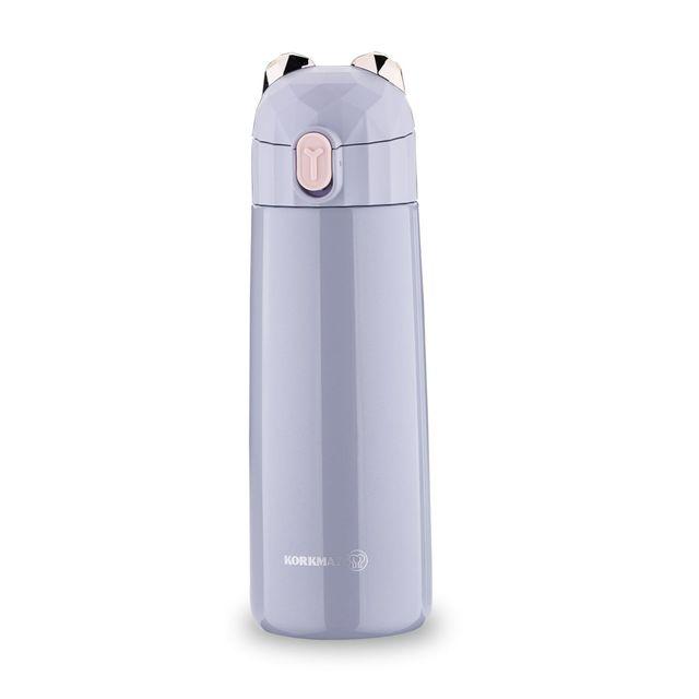 Korkmaz Bambino Plus Gray 350 Ml Kid's Bottle A743-02