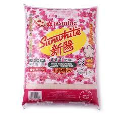 Jasmine Sunwhite AAA Special Fragrant Rice 10kg