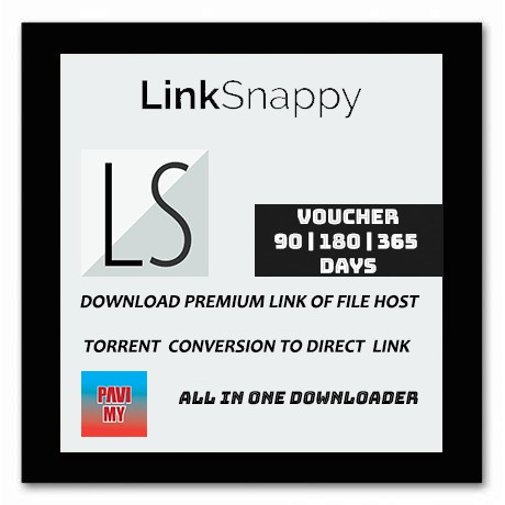 LinkSnappy Voucher 90 Days,180 Days, 365 Days | Download File And Torrent Conversion