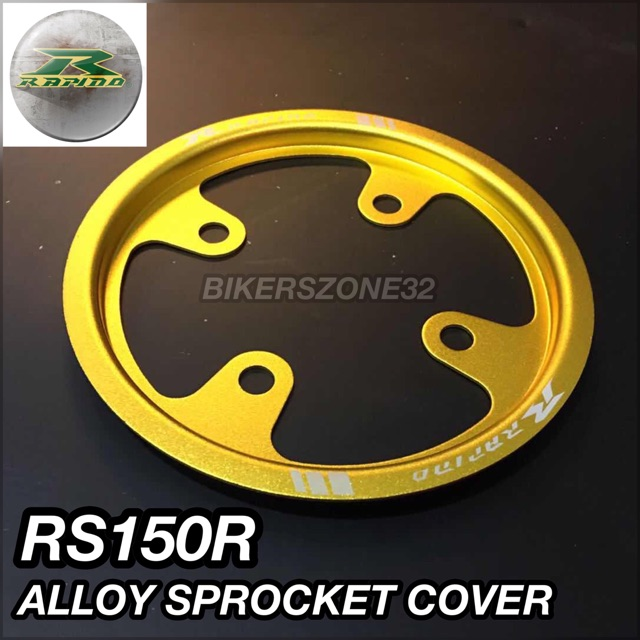 RS150R / RS150 Rapido Gold Alloy Sprocket Cover