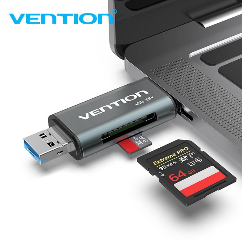 USB 3.0 5Gbps Super Speed MINI OTG Micro USB SD//SDXC Adapter TF Card Reader New-Sky-View