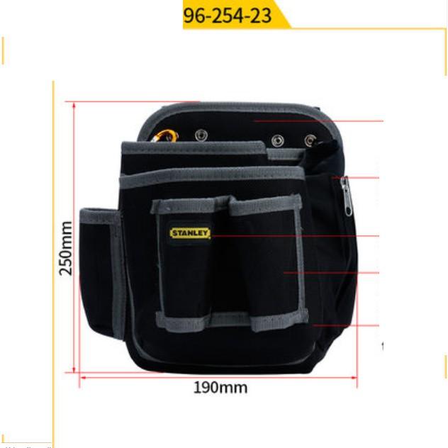 250MM X 190MM 96-254 STANLEY 5 POCKETS TOOL BAG STORAGE ORGANISER