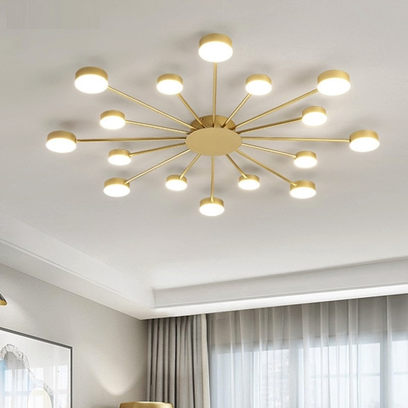 Modern Led Ceiling Lights For Living Room Bedroom Kitchern Home Ceiling Lamp Lighting New Led Ceiling Light Chandelier Shopee Malaysia