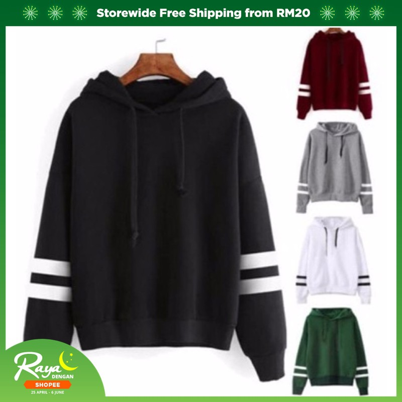 23281a9e2c5 Women Winter Warm Long Sleeve Hoodie Rope Hooded Sweater Hoodies