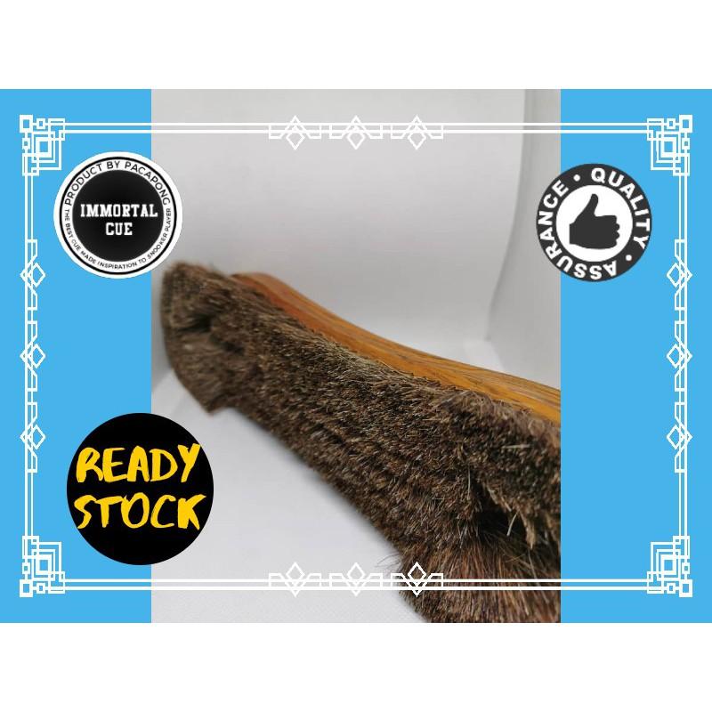 Snooker/Pool table brush - Organic Horse flur