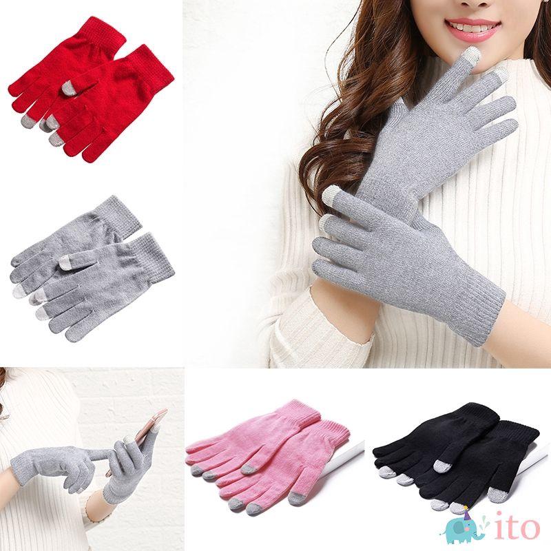 ถุงมือผ้าถักกันความร้อนสำหรับผู