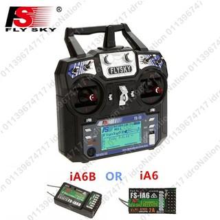 FlySky FS-i6 2 4G 6CH RC Transmitter Remote Receiver Control