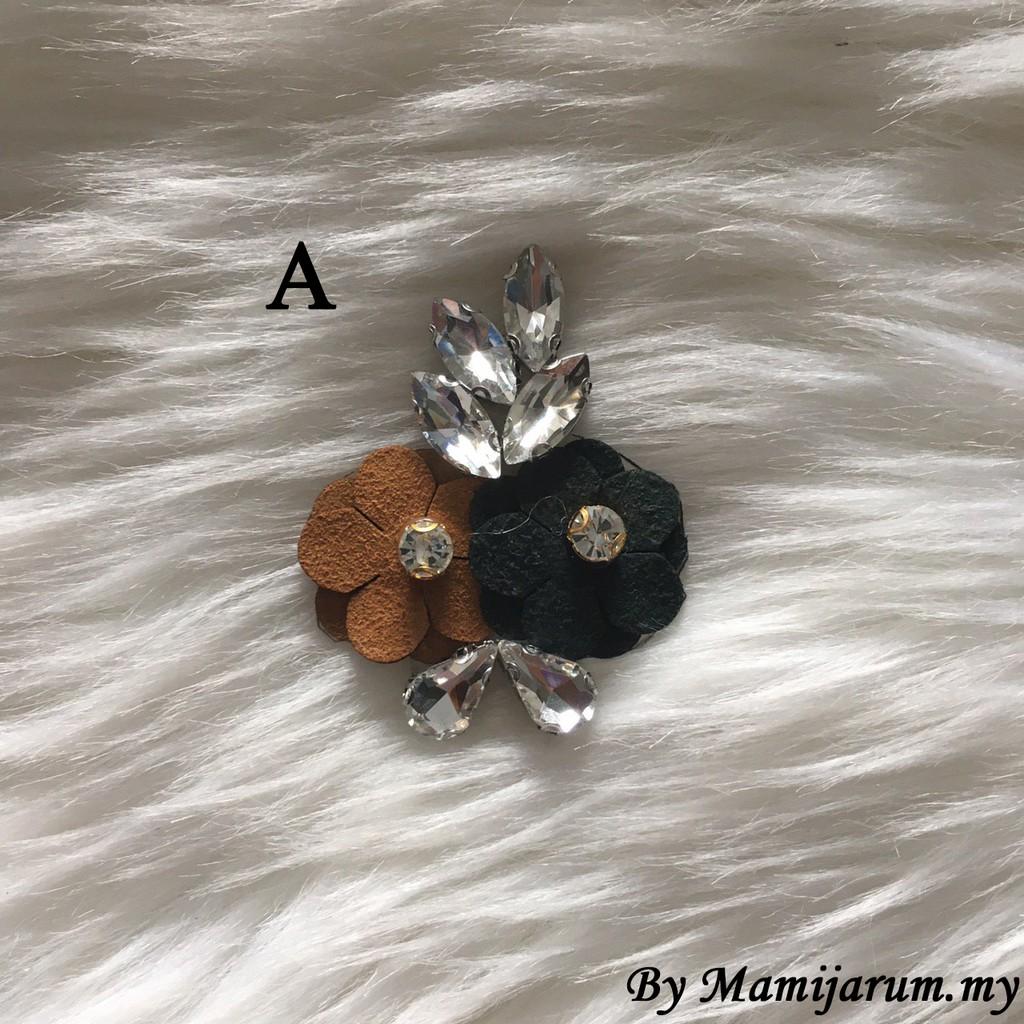 BeeBlinG Iron On Chunky Beads Mix Bunga 3D (CB18) RM 4.20 / PCS