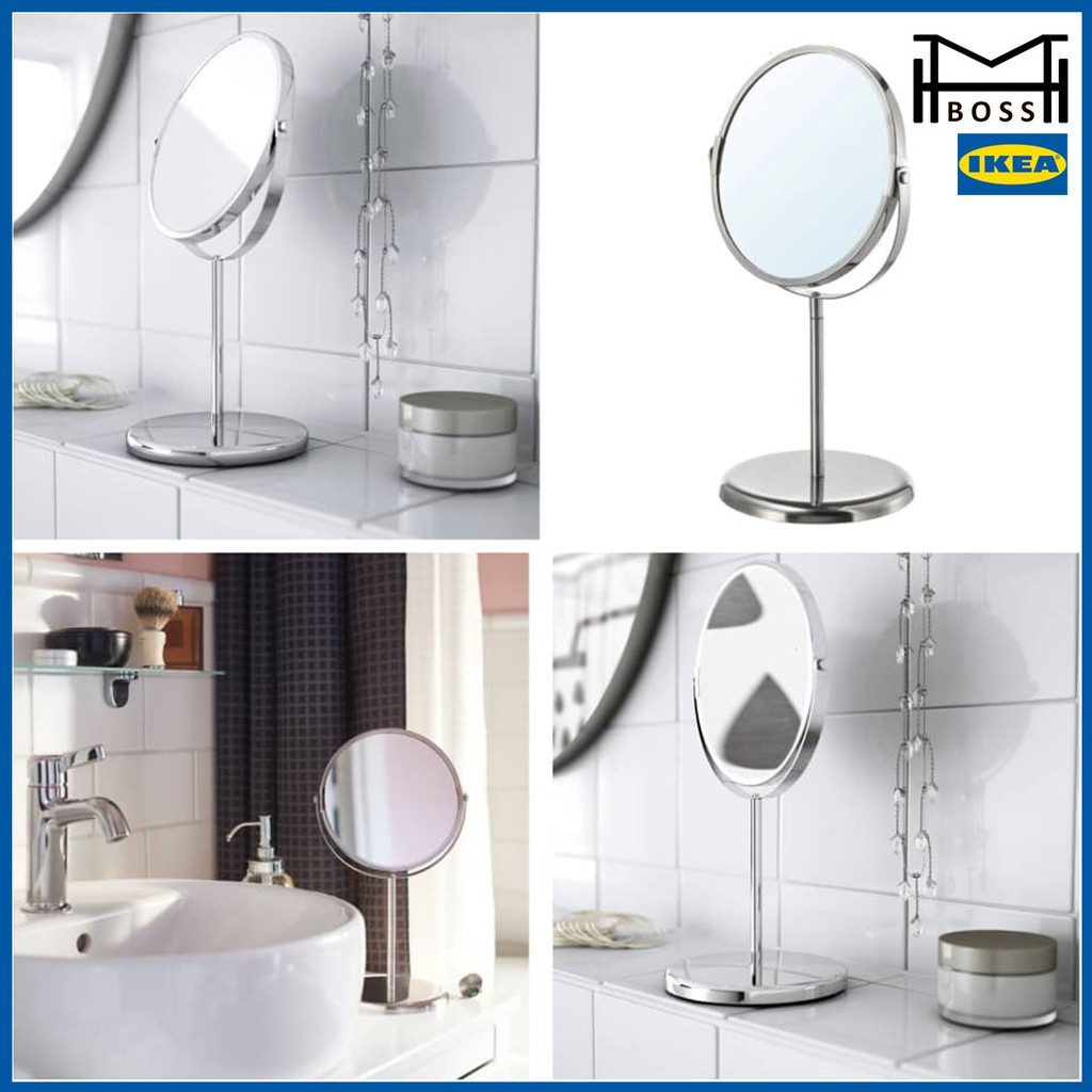 Ikea Trensum Mirror Stainless Steel, Ikea Mirror Bathroom
