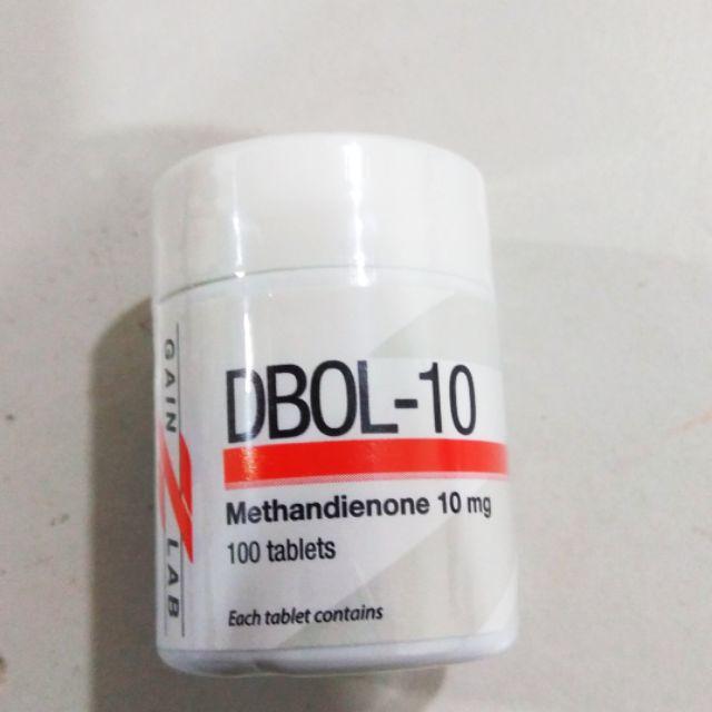 Gainzlab DBOL-10 for weight gain