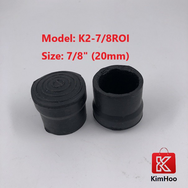 READY STOCK 7/8 Inch Rubber Round Stopper for Chair Legs 20mm