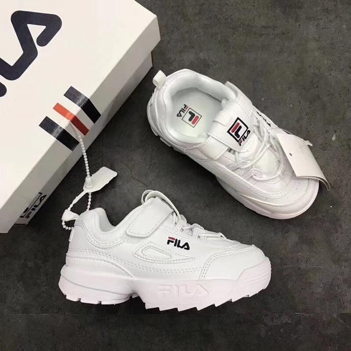 estético Monica Preguntar  Original FILA Ready Stock Sport Shoes Boys / Fila Fila Disruptor Girls  Model Lace Up | Shopee Malaysia