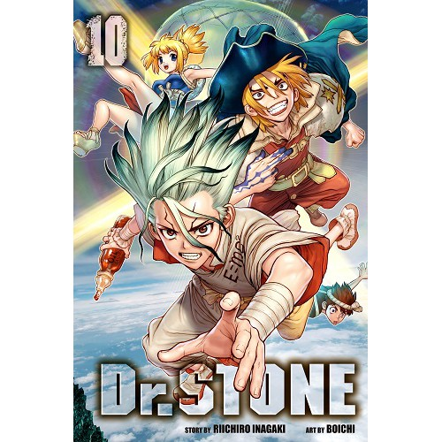 {e-Manga} Dr. Stone Chapter 1~134 [Ongoing] English Version [ PDF Only ]
