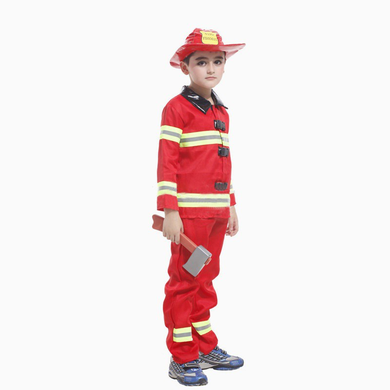 Fireman Sam Children/'s Fancy Dress Costume 5-6 Years