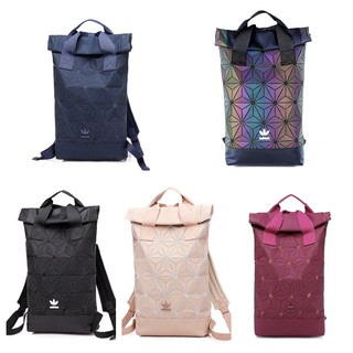 0bf94c6440 BegPasar Double Hand Adidas x Issey Miyake 3D Urban Mesh Roll Up Black  Backpack