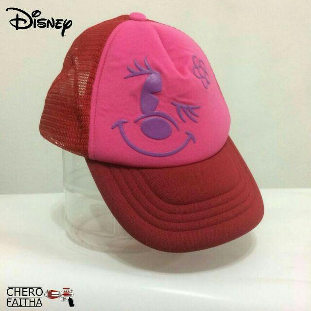 1d5d3680281 Disney minnie mouse trucker cap hat topi