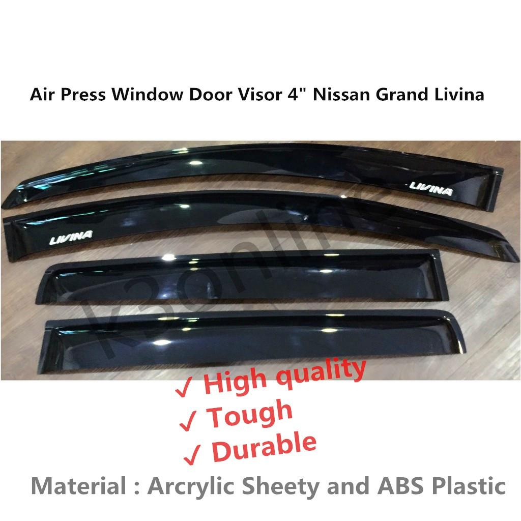 Mitsubishi Mirage AG Door Visor  43d7f5e0ca5