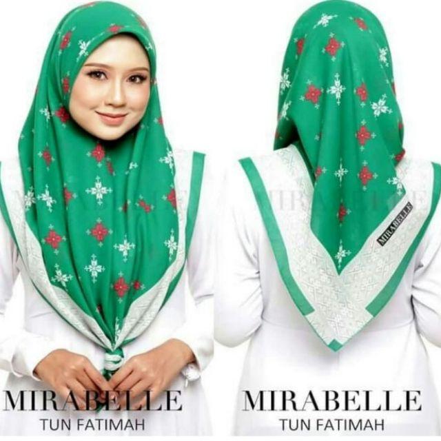 Mirabelle TUN FATIMAH  with Batu Tabur