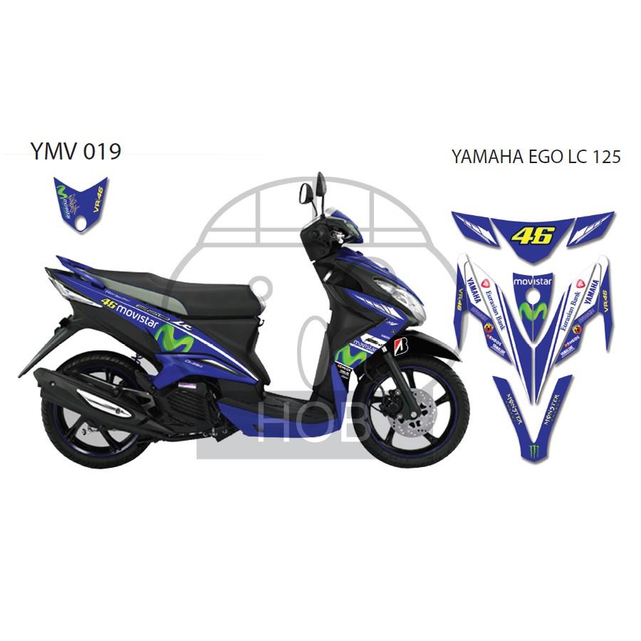 Yamaha ego s 115 movistar sticker shopee malaysia