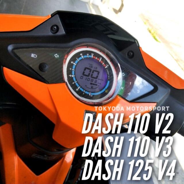 Digital Meter🔥 Honda Dash110 Dash125 Dash V2/3/4 Original Tokyoda