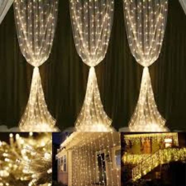 🎊🌻 4 Meters 100L Warm Colour LED Icicle for Backdrop and Decoration 🎊🌻