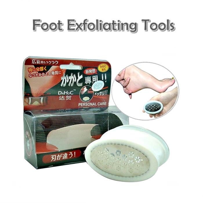 MALAYSIA- ALAT BUANG KULIT KAKI/ KAKI LICIN/ Stainless Steel Exfoliating Foot Pedicure Feet Care Tools