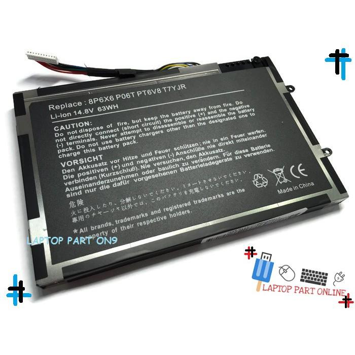 Battery Alienware M11X M14X R1 R2 P18G P06T PT6V8 SAMSUNG BT6V8 Laptop  Battery