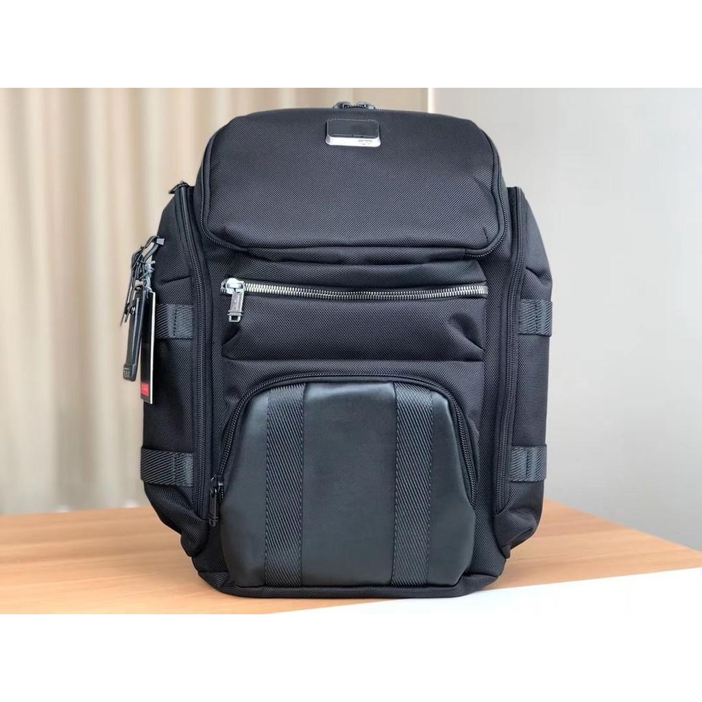 Ready Stock Tumi Alpha Bravo Tyndall Utility Bagpack 232384 Free Engrave Name Shopee Malaysia