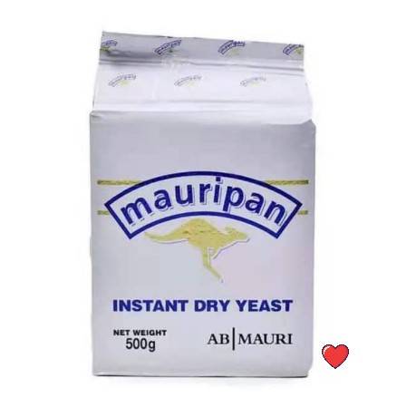 mauripan Instant Dry Yeast 500g  ( Free fragile + Bubblewrap Packing )