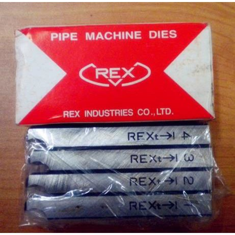 REX BSPT BSPT PIPE THREADING THREADER MACHINE DIES BOLT DIE CONDUIT