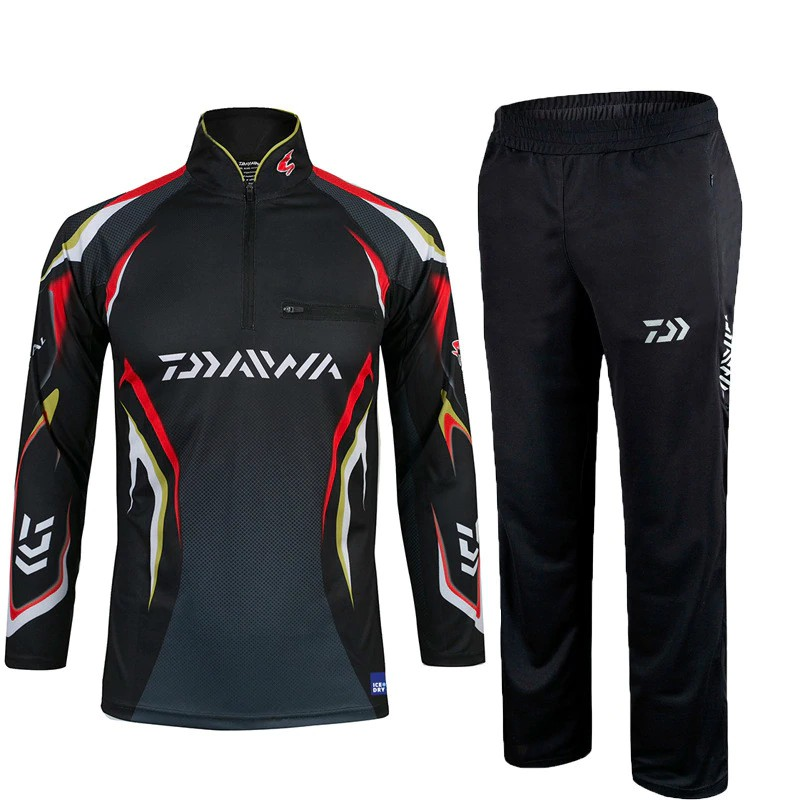 7537d7b0 ProductImage. ProductImage. Fishing Clothing sets Outdoor Sportswear suit Breathable  Sun UV Protection fis