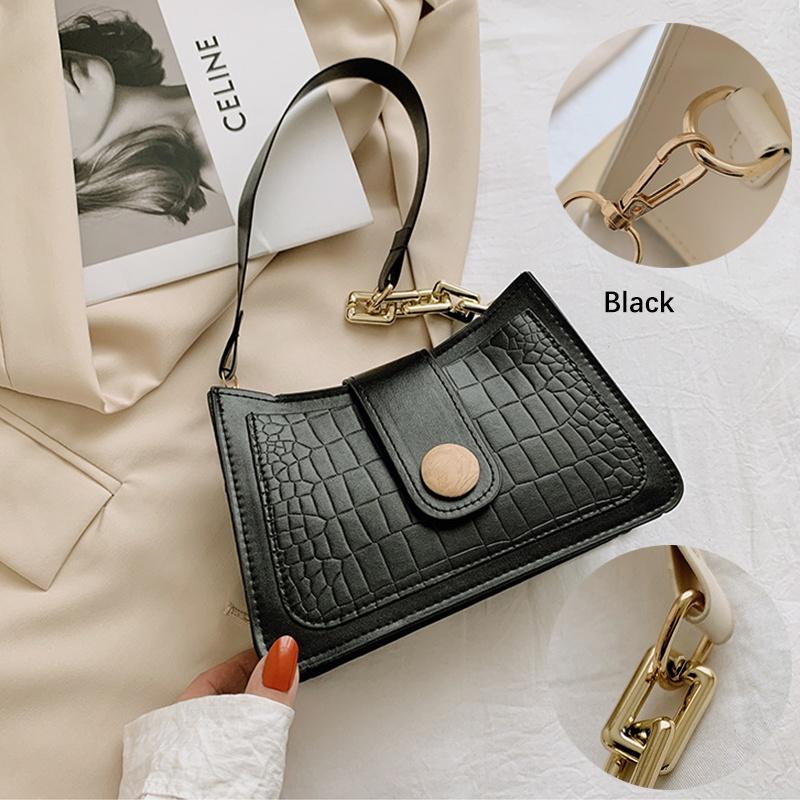GDeal Korean Fashion Portable Casual Small Square Bag Women Mini Sling Bag Outdoor Shopping Casual Sling Bag