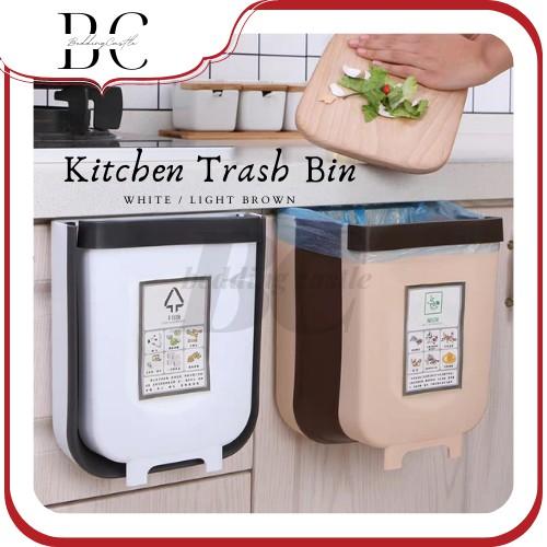 Foldable Kitchen Bin Tong Sampah Sinki Car Garbage Toilet Bin