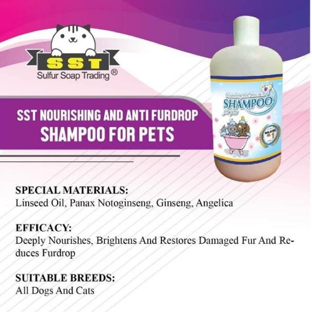 SST Nourishing Antifurdrop Shampoo